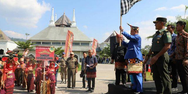 Bupati Lambar Buka Acara Pahar Agung Lampung Sai Batin