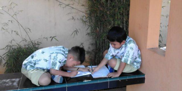 Murid TK Global Surya Belajar Mengenal Lingkungan