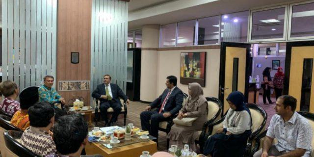 Jalin Kerjasama Internasional, Duta Besar Pakistan Mengunjungi ITS