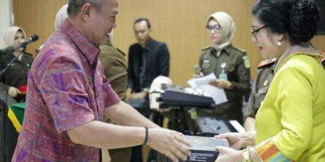 Wagub Bachtiar Basri Lepas Kajati Lampung Masuki Purnatugas