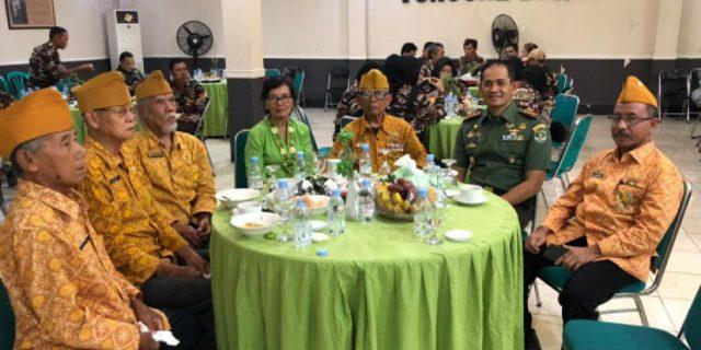 Dandim 0506/Tgr Gelar Silaturrahmi Dengan Keluarga Besar TNI