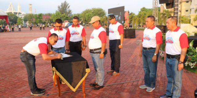 Polda Aceh Gelar Pakta Integritas Penerimaan Polri Terpadu 2019