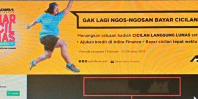 PT Adira Finance Lampung 2 Car Berikan Promo HarCilNas di Tahun 2019