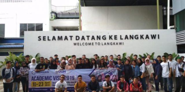 Aktivitas Peserta Academic Visit Darmajaya di Pulau Langkawi, Ikuti Keseruannya