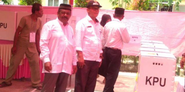Di Kabupaten Aceh Utara, Pemilu Serentak 2019 Berjalan Lancar