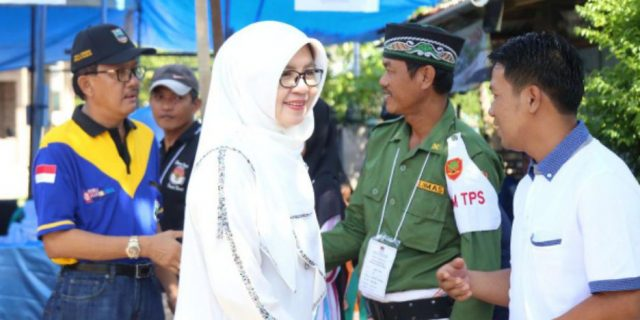 Saksikan Pencoblosan, Agus Istiqlal Sambangi Beberapa Kecamatan