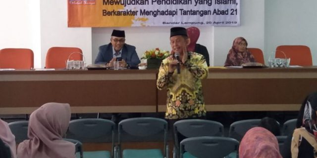 Andi Surya: Sarasehan Global Surya Islamic School Menuju Pendidikan Islami