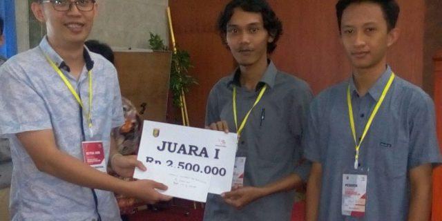 Mahasiswa IIB Darmajaya Sabet Juara 1 dan 2 Web Technology Selekda ASC XIII 2019