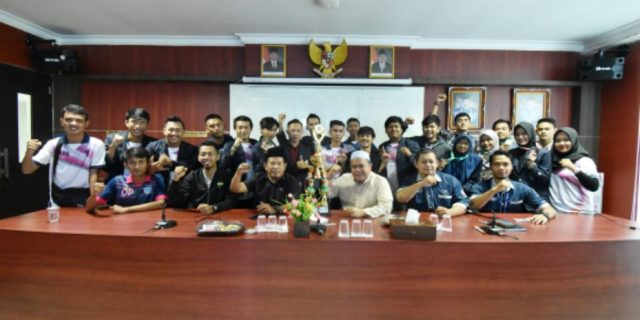 Genjot Fisik, Tim Futsal IIB Darmajaya Targetkan Juara dalam Pomnas