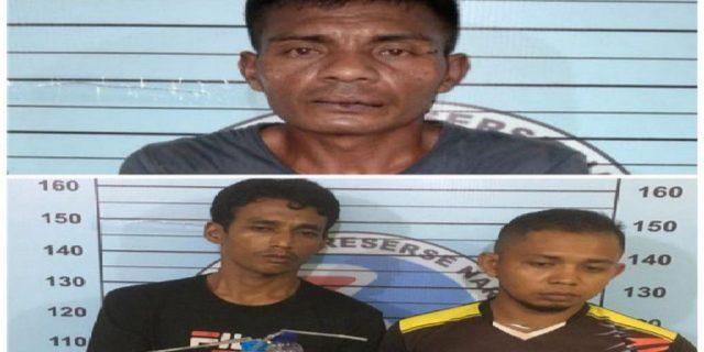 3 Pengedar Sabu Ditangkap di Wilayah Hukum Polres Aceh Utara