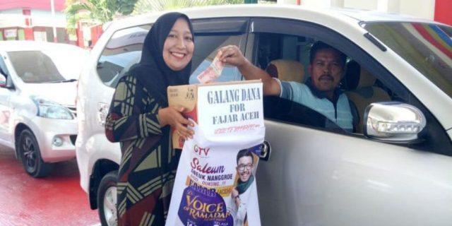 Luar Biasa Masyarakat Aceh Jaya, Dukungan Fajar Aceh di Voice of Ramadhan Jakarta