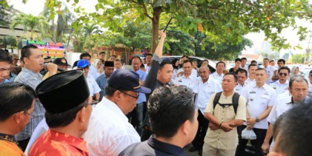 Pemprov Lampung Matangkan Acara Penyambutan Arinal – Chusnunia di Mahan Agung