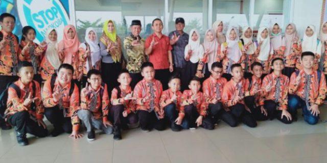 Pelepasan Kontingen OSN SD/SMP ke Tingkat Nasional 2019