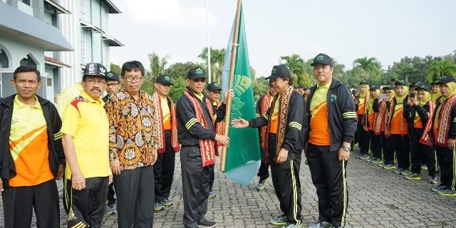 Rektor Mukri Lepas Kontingen UIN Ikuti Pionir IX PTKIN