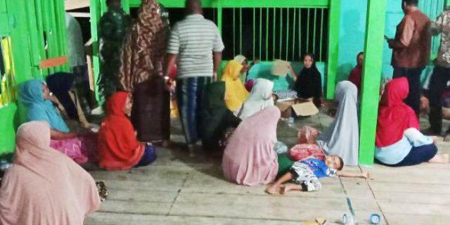 Dampak Terendam Air Setinggi 50 Sentimeter,112 Orang Mengungsi